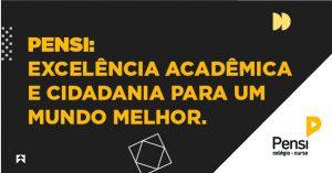 1º lugar - excelência acadêmica